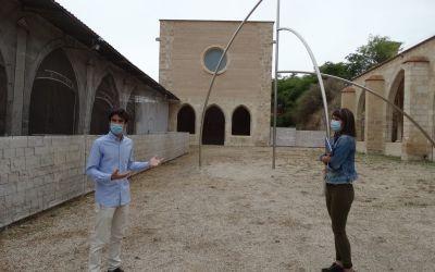 Les obres de gran format d'Andreu Alfaro dialogaran aquests mesos amb Xàtiva i la seua història