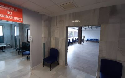 L'hospital de Xàtiva instal·la una sala d'espera annexa a urgències