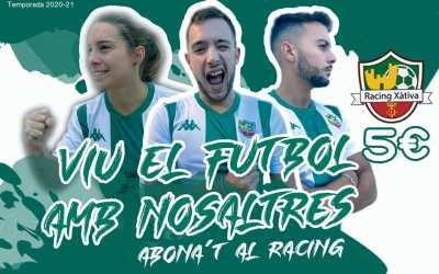 El Ràcing Xàtiva posa en marxa una ambiciosa campanya d'abonaments