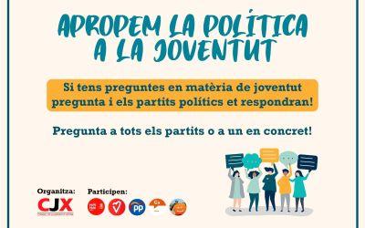 """El Consell de la Joventut de Xàtiva llança la campanya """"Apropem la Política a la Joventut"""""""