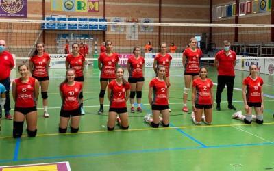 Primeres victòries dels equips júniors del CV Xàtiva en la primera jornada de la lliga