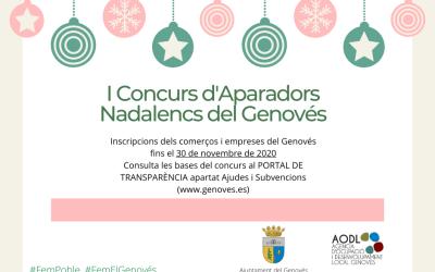 El Genovés convoca el I Concurs de Decoració d'Aparadors Nadalencs