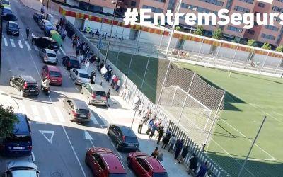 La FFCV sol·licitarà a la Generalitat que es replantege la prohibició de públic en els camps de futbol