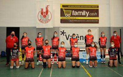 Familycash Xàtiva voleibol masculí guanya amb claredat al Refoart Muro Mallorca