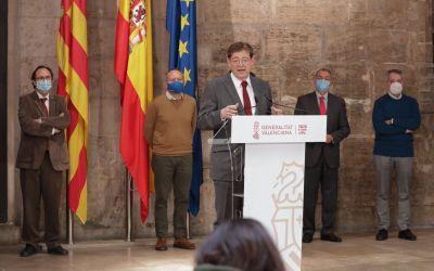 Ximo Puig presenta el 'Pla Resisteix' dotat amb 340 milions per a la reactivació urgent dels sectors més afectats per la COVID-19