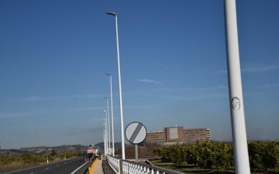 Xàtiva millora la il·luminació als vials d'accés a la ciutat i a l'hospital Lluís Alcanyís