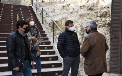 Les obres dels banys i el restaurant del Castell de Xàtiva avancen a bon ritme
