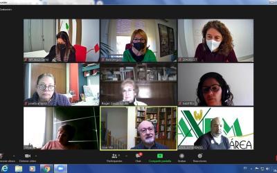 Els regidors de Benestar Social i Sanitat de l'Ajuntament de Xàtiva es reuneixen amb les entitats que treballen amb persones depenents