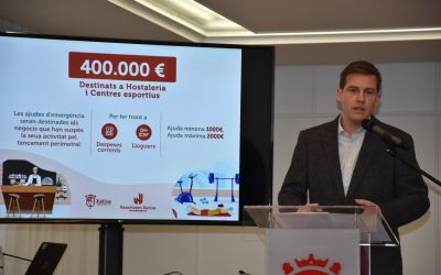 Els hostalers de Xàtiva podran rebre fins a 6.000 euros en ajudes directes
