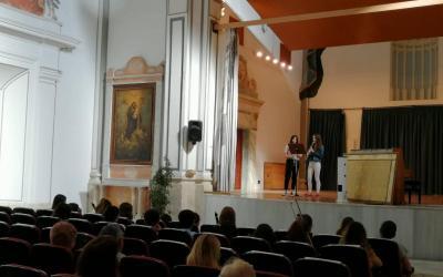 L'escenari de l'auditori de Sant Agustí de Xàtiva estrena condicionament climàtic