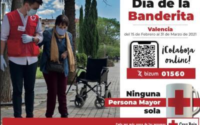 Creu Roja celebra la seua primera Bandereta en línia a favor de les Persones Majors