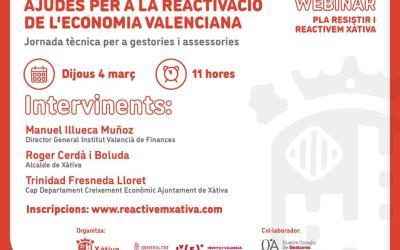 L'Ajuntament de Xàtiva explica com demanar les ajudes del Pla Resistir i els crèdits de l'IVF