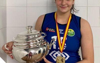 Clàudia Fita guanya la Copa de la Reina de Voleibol