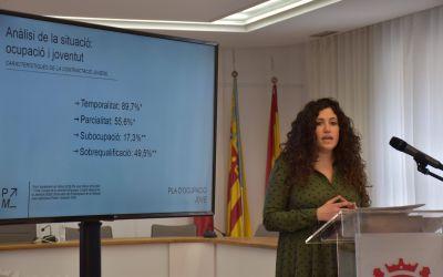 L'Ajuntament de Xàtiva destina 242.300 euros en 2021 al Pla Millenial per a la millora de l'ocupació jove