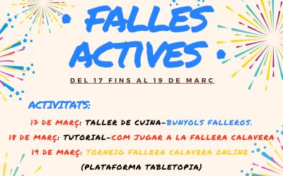 La regidoria de Joventut de Xàtiva organitza una sèrie d'activitats virtuals per a la setmana fallera