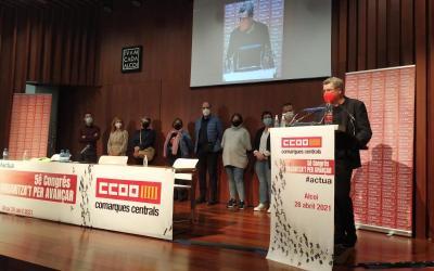 CCOO Comarques Centrals elegeix a Raül Alcocel com a nou secretari general