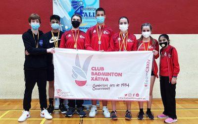 Els jugadors del CB Xàtiva aconsegueixen 12 medalles en els TTR del darrer cap de setmana