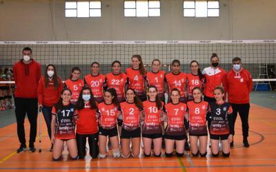 Victòries importants dels equips juvenils masculí i femení del Familycash Xàtiva Voleibol