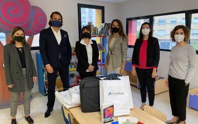 L'Ajuntament de Canals i Caixabanc fomenten la lectura infantil