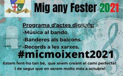 Moixent celebra el Mig Any Fester amb actes digitals