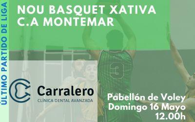 El NB Xàtiva es juga la classificació per a la fase d'ascens a Lliga EBA en dos enfrontaments directes