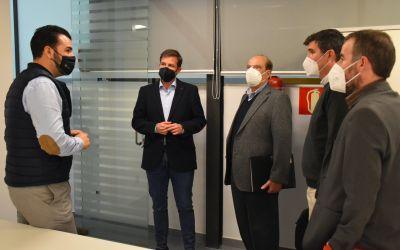 L'Ajuntament de Xàtiva es reuneix amb el Centre Europeu d'Empreses i Innovació per explorar vies de col·laboració