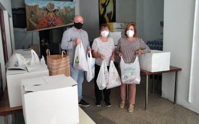 El Ciutat de Xàtiva CFB realitza una donació de 300kg d'aliment a Gent de la Consolació