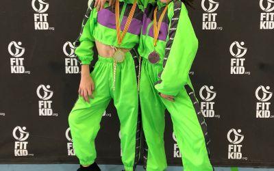 Tania Rubio i Amaia Hueso triomfen en el Campionat Autonòmic de Fit Kid