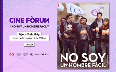 """El CJX organitza un cine fòrum de la pel·lícula """"No Soy un Hombre Fácil"""""""