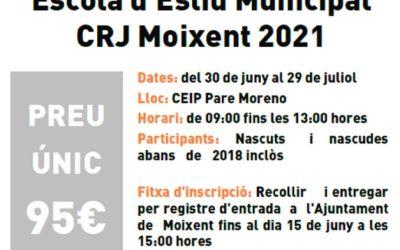 L'Ajuntament de Moixent prepara una nova edició de l'Escola d'Estiu Municipal