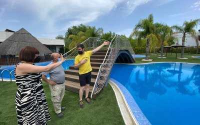 L'Ajuntament de Canals ultima els detalls per a la reobertura de les piscines exteriors
