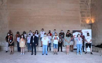 Guillermo Delegido es reelegit com a president del Consell de la Joventut de Xàtiva
