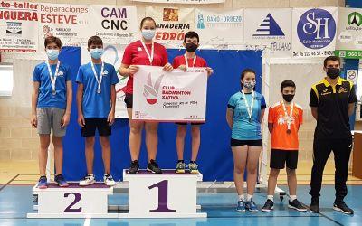 Sarai Ramón i Ximo Torres es proclamen campions provincials en la prova de dobles