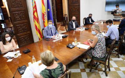 """La Generalitat sol·licita al TSJCV l'aplicació del """"toc de queda"""" nocturn a 77 municipis"""
