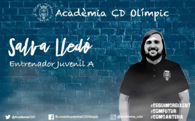 Salva Lledó, nou entrenador del Juvenil A del CD Olímpic
