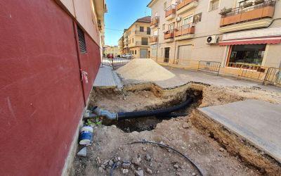 EGEVASA inicia les obres de reparació del clavegueram a la zona dels metges de Moixent