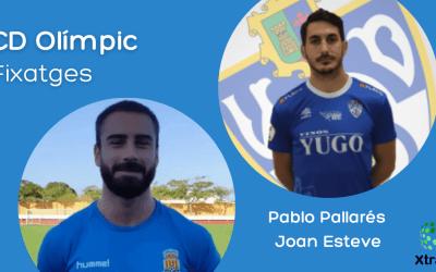 El CD Olímpic incorpora a l'experimentat davanter Pablo Pallarés