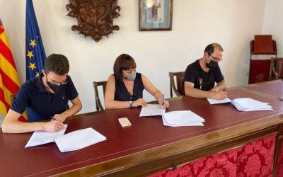 L'Ajuntament de Canals i ASSOCIEM signen un conveni de col·laboració per valor de 250.000 euros
