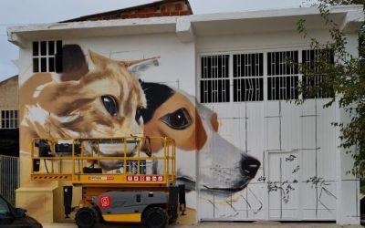 L'Alcúdia de Crespins comença la IV Edició de la Mostra d'Art Urbà