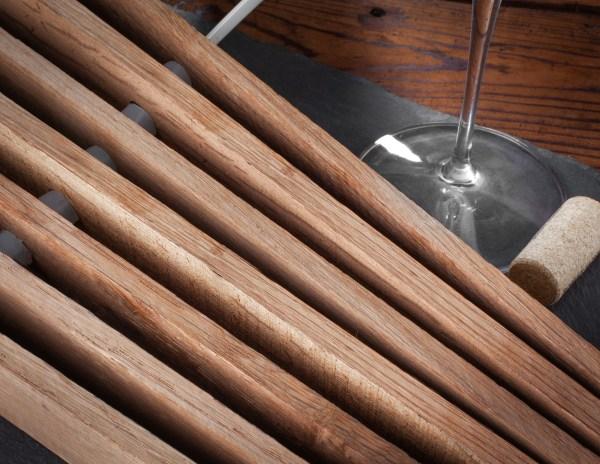 Winemaking light American oak barrel inserts