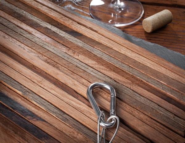 Winemaking medium American oak stave fan