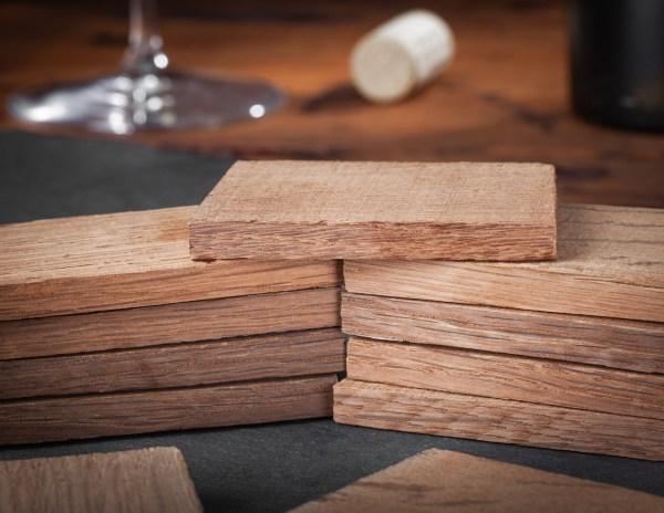 Winemaking medium American oak Stavettes