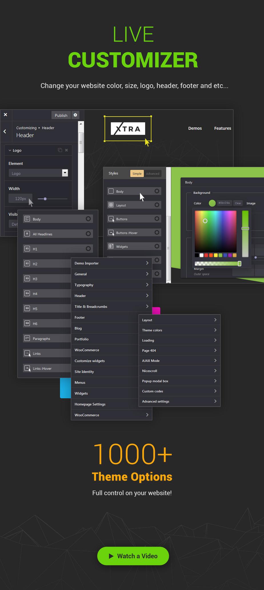 XTRA - Multipurpose WordPress Theme + RTL - 8