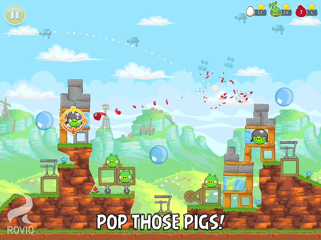 Angry Birds Short Fuse Update For Android Iphone And Ipad