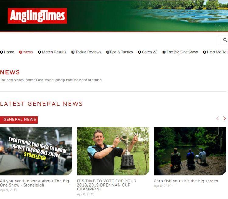read angling news