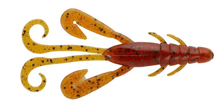 De Prorex Craw is een kreeftachtige softbait met een ongekend natuurlijke zachtheid welke de zwemactie van het kreeftje ten goede komt.