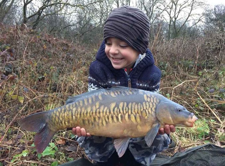 a nice winter scaly for Alfie