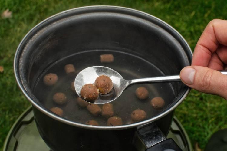 remove boiled hookbaits