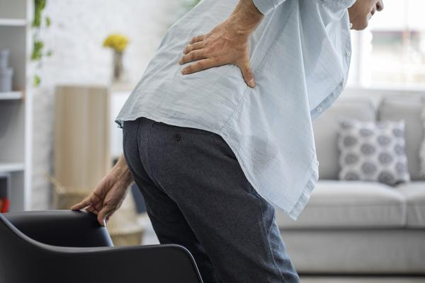 is unbearable lower back pain making