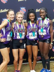 17-18 Young Women 4x8 A 3rd Place